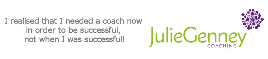 Business Coaching Testimonial from Julie Genney